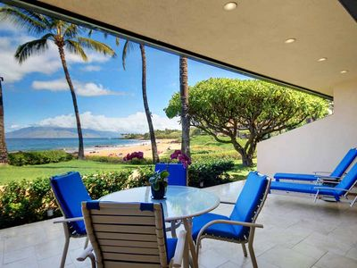 Photo for Spectacular Ocean Views- Ground Floor Starting @ 699.00/nt Makena Surf E-104