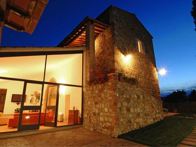 Photo for Tuscany Luxury Villa wonderful antique country house with pool for 14 people near San Gimignano, Tus