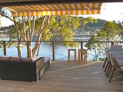 Photo for Waterfront Playground - Million dollar views and private jetty