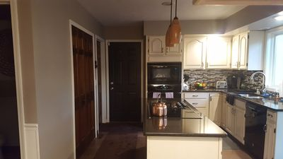 Newly remolded kitchen. All amenities available to you during your stay.