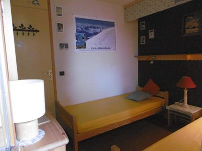 Photo for Surface area : about 31 m². 2nd floor. Orientation : South-West. View ski slopes