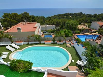 Photo for Club Villamar - Beautiful, fully furnished holiday villa with private swimming pool, barbecue, mu...