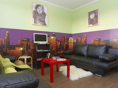 Photo for Avocado Cream apartment in Friedrichshain with WiFi, integrated air conditioning (hot / cold) & lif…