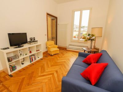 Photo for Spacious Franci's House apartment in Genoa with WiFi, air conditioning & private terrace.