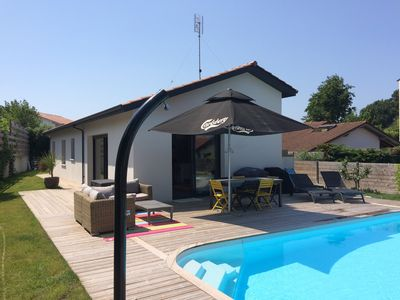 Photo for ANGLET COAST BASQUE HOUSE SWIMMING POOL 3KM BEACHES