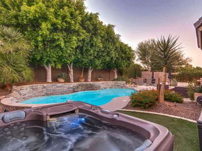 Photo for SWSSParkPlace Gorgeous backyard Heated pool 5 star home StayWithStyle