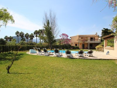 Photo for Pollensa Lovely Villa & Pool 2 miles to the beach and town