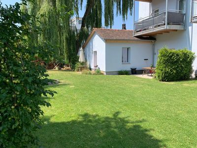 Photo for Constance / Kreuzlingen! Very centrally located ground floor apartment with garden