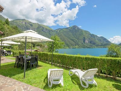 Photo for Holiday apartment at ca. 50 meters from Lake Ledro