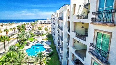 Photo for Puerta Cabos Village - 2 Bdrm Condo - 1 Block to Medano Beach!