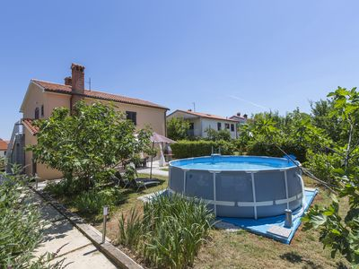 Photo for Apartment PAOLA with  private swimming pool, gazebo, barbecue,  free Wi-Fi