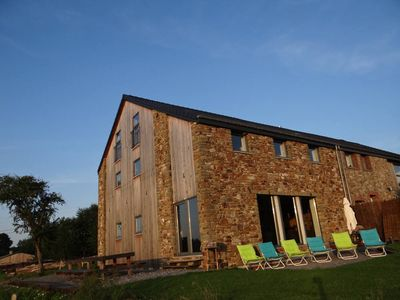 Photo for Spacious and comfortable gîte with garden and very nice view