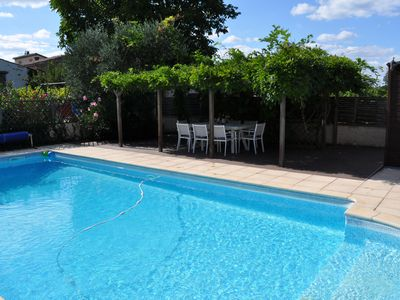 Photo for Family House, Village Nr Mirepoix, Private Pool, 5 Bedrms, 3 Bathrms, Sleeps 10