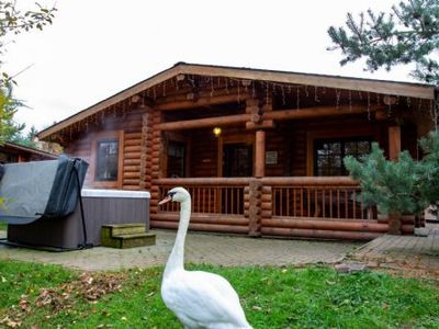 Photo for Gingerbread Log Cabin -  a log cabin that sleeps 6 guests  in 3 bedrooms