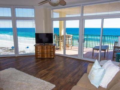 Photo for Wall of Windows!  Jade East 620, Gulf Front Beauty, Free Activities