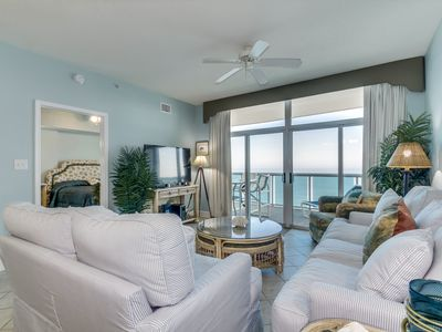 Photo for Beautifully decorated, Oceanfront Penthouse Condo + FREE DAILY ACTIVITIES!