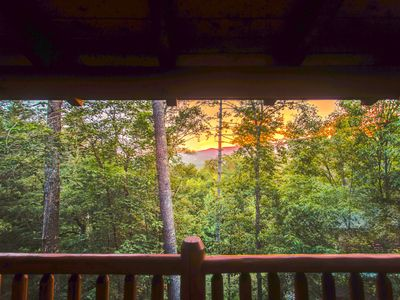 Photo for 10 Min 2 Pigeon Forge Pkwy/Gorgeous Cabin/Hot Tub/Pool Table/Mountain Views