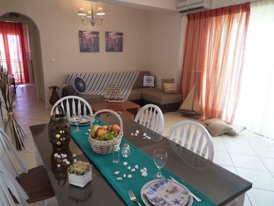 Photo for Modern apartment in Rethymno (50m from the beach)