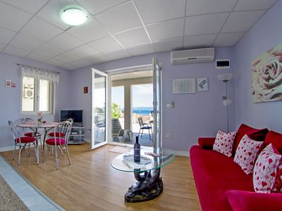 Photo for Luxurious apartment with terrace and sea view II