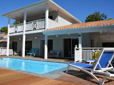 Photo for VILLA CHARPENTIER CARCANS BEACH 4 **** PRIVATE POOL HEATED (10 people
