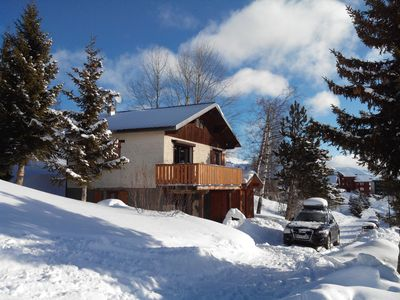 Photo for Chalet l'Escapade, unobstructed views and comfort