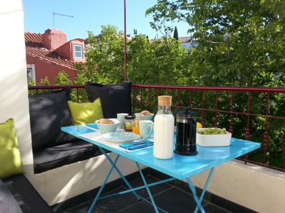 Photo for ALFAMA -CHATEAU - TERRACE - VIEW TAGE