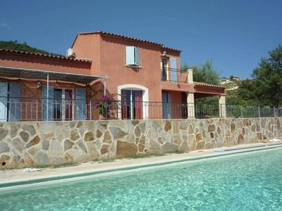 Photo for Spacious comfortable villa with private pool on a small holiday