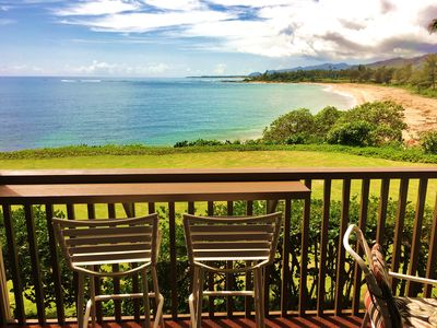Photo for UP to 25% OFF!!  Premium Ocean  Front condo--Wailua Bay View 1BD #107