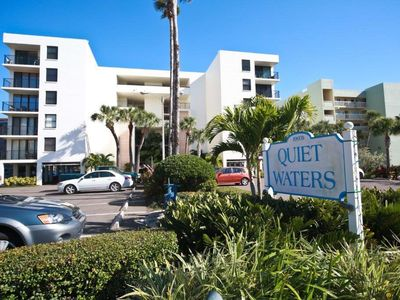 Photo for Watch the Dolphins from your Private Balcony!!! Quiet Waters C1- Intracoastal Condo