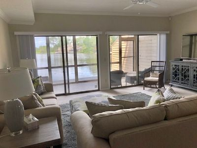 Photo for BEAUTIFUL WATER VIEW SAWGRASS 2 BEDROOM, 2 1/2 BATH