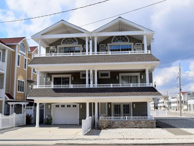 Photo for SPECTACULAR NEW Beachblock Beauty located in Sea Isle's south end