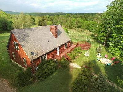 Photo for 3BR Chalet Vacation Rental in Livingston Manor, New York