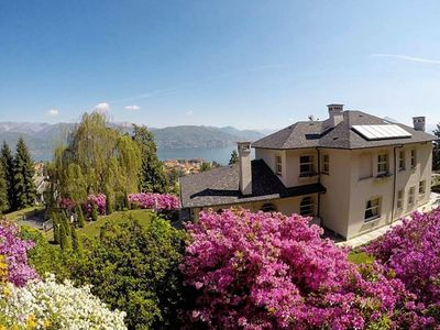 Photo for 5 bedroom Villa, sleeps 10 in Baveno with Pool, Air Con and WiFi