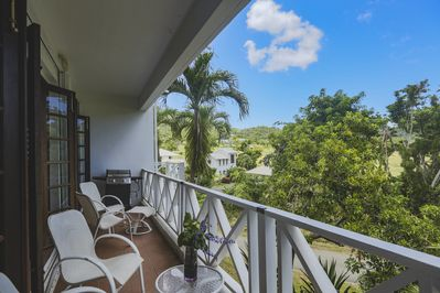 Amazing views and breezes from your balcony