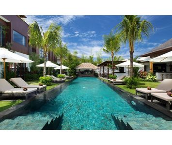 Photo for Large 7 Bedroom Villa Seminyak Near Eat Street, TWO POOLS, Near Beach