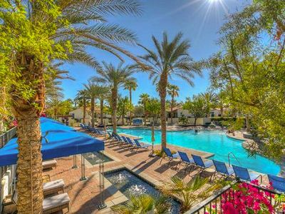 Photo for Legacy Villas- 5 Star Rating- ALL Amenities, Mountain Views, 3 beds- COACHELLA!