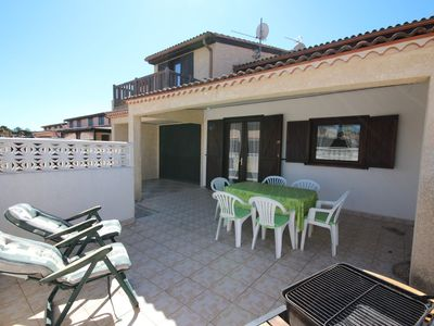 Photo for Holiday house with 3 bedrooms, located in TAMARIS residence, only 500 from the sea of Portiragnes...