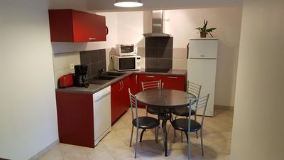 Photo for Pleasant apartment in very quiet residential area.