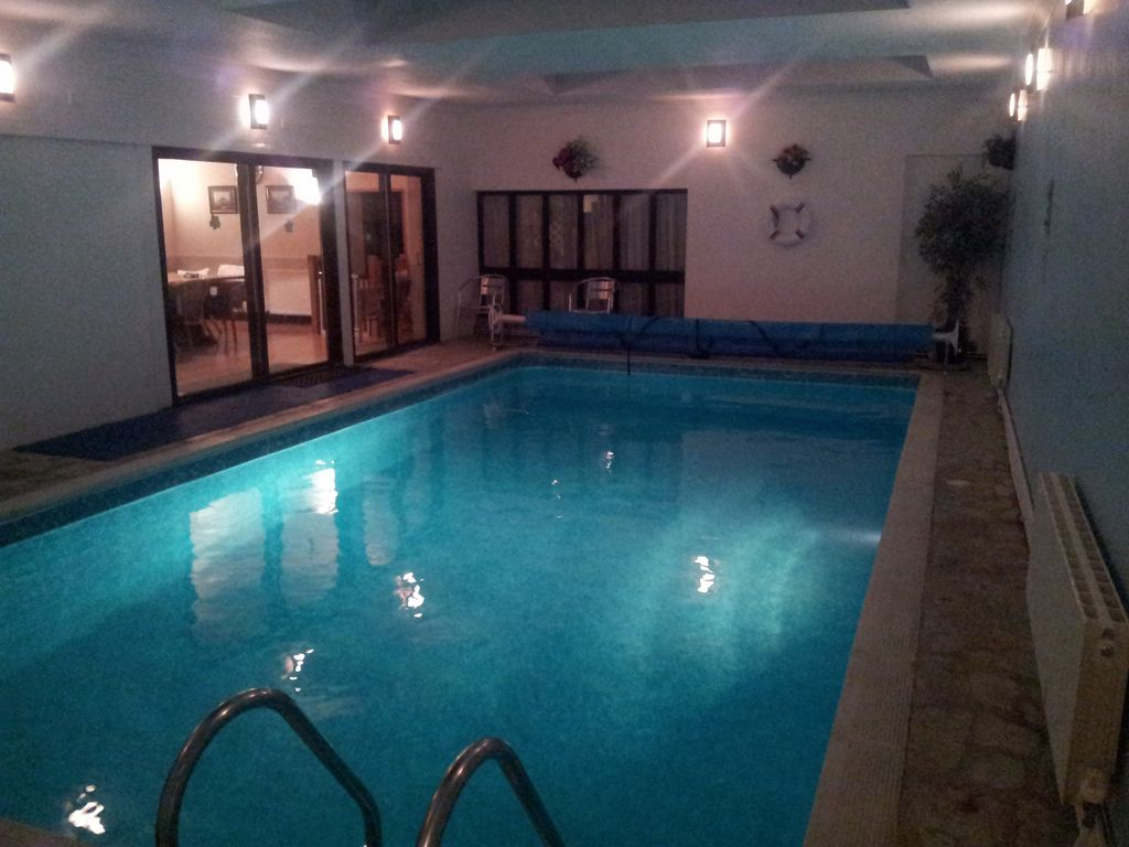 Private indoor pool  Thatched Cottage With Private Indoor... - HomeAway Launcells