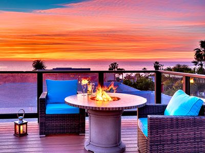 Photo for 25% OFF OCT - Roof Top Deck, Ocean Views, Hot Tub, Steps to Beach