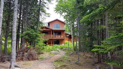 Photo for Beautiful newer home on peaceful Loon Lake