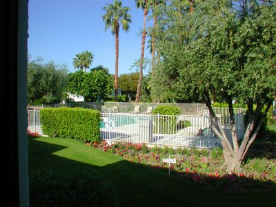 Photo for Sunshine Villas: 2 BR / 2 BA condo in Palm Springs, Sleeps 4