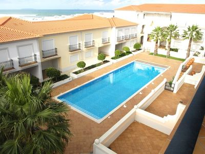 Photo for 2 bedroom Duplex apartment 200 meters from the beach with access to the pool