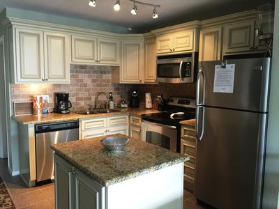 Fully stocked modern kitchen! Everything is NEW!