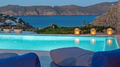 Photo for AN EXCLUSIVE RETREAT ERINIA VILLA MYKONOS 5 BEDROOMS 4 BATHROOMS UP TO 10 GUESTS PRIVATE POOL