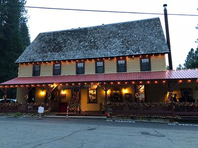 Photo for Welcome to the Historic Dorrington Hotel - family retreats, friends getaway