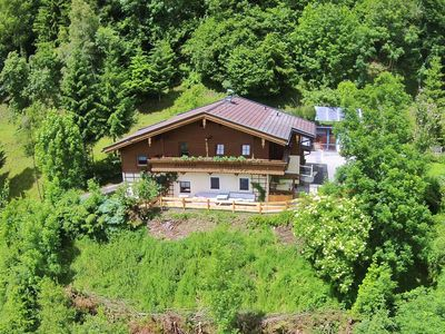Photo for Detached holiday home on a sunny location, with a view of Hohe Tauern near Kaprun