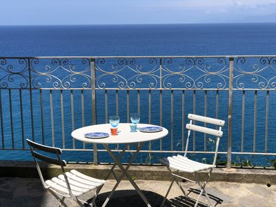 Photo for Relax at PALAZZO PIZZO RESIDENCE in charming fisher village by the sea