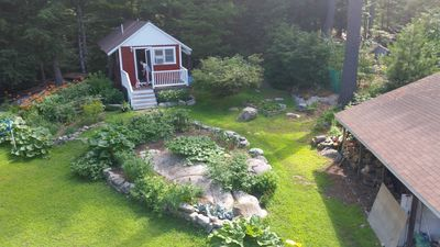 Photo for Sebago Lake Cabin on Raymond Cape; a small newly renovated space.