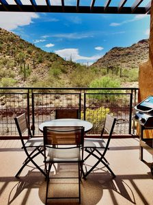 Enjoy the beautiful Sonoran desert from your own private patio!